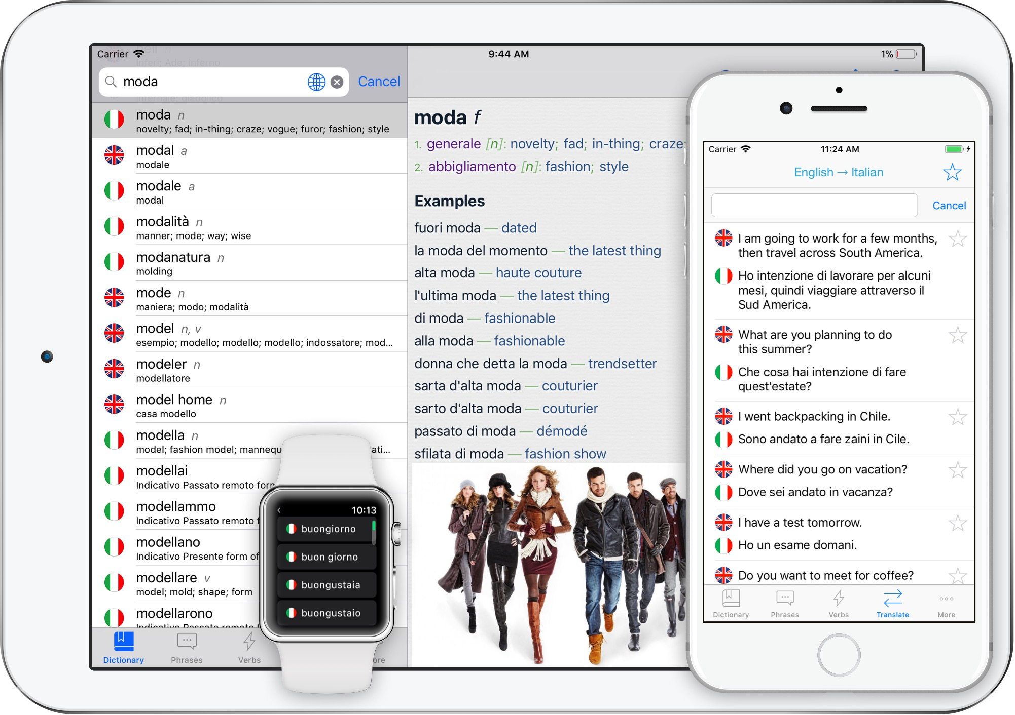 Translator Italian: Italian English Translator For IPhone & IPad