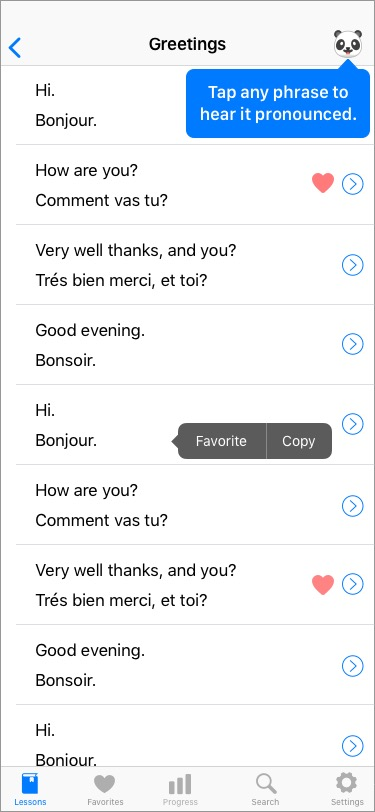 Learning French Greetings