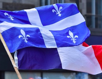 Quebec France Flags