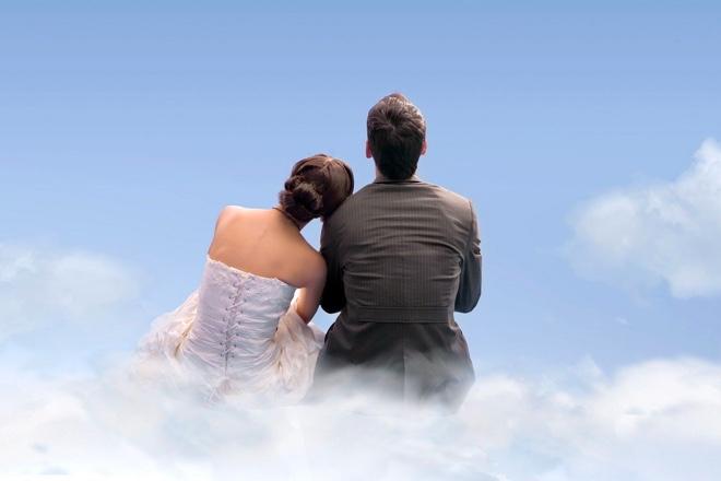 couple in heaven