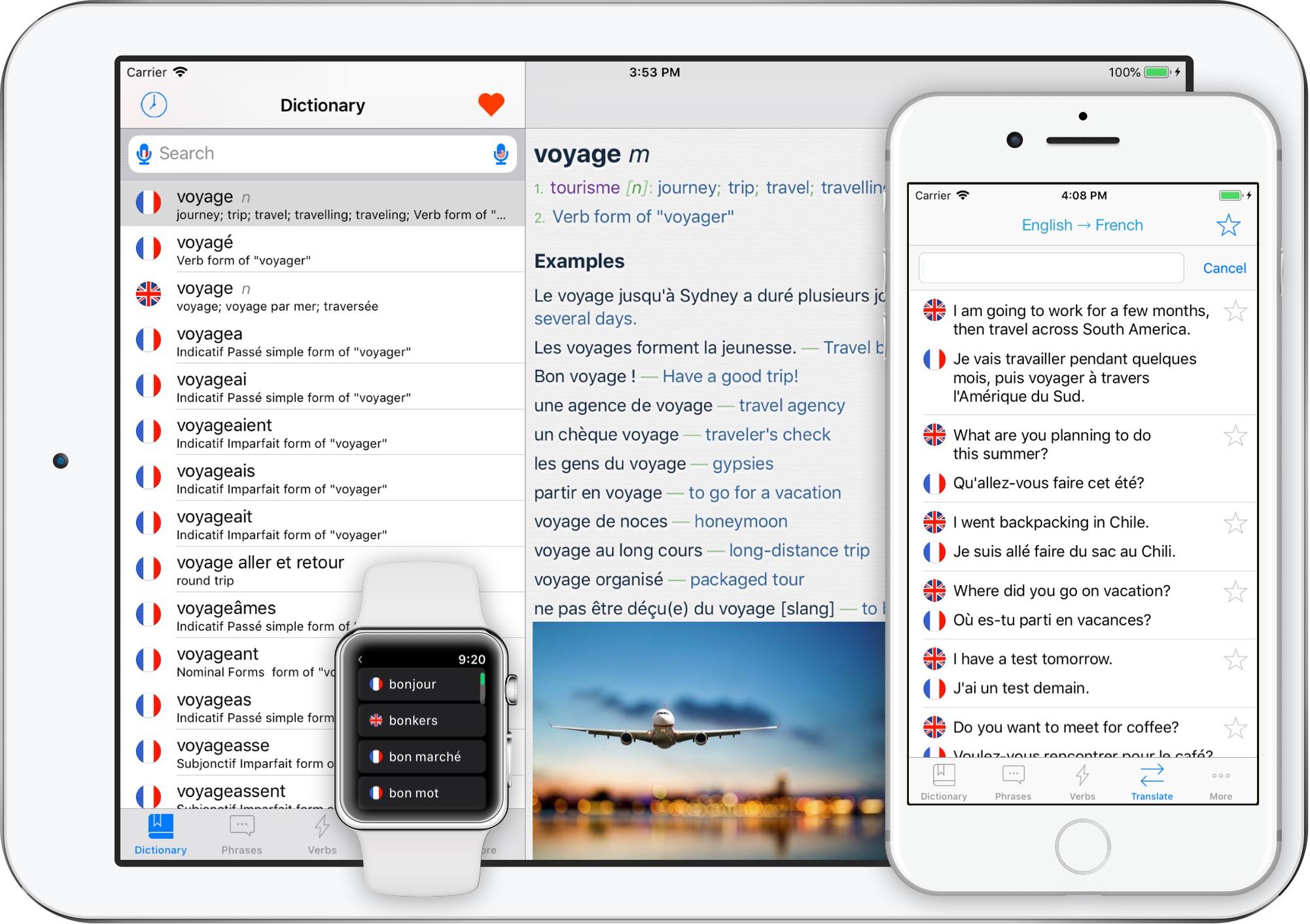 iOS French Translator App