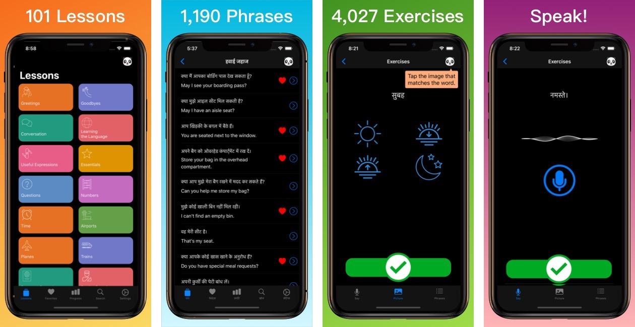 Learn Hindi App iPhone